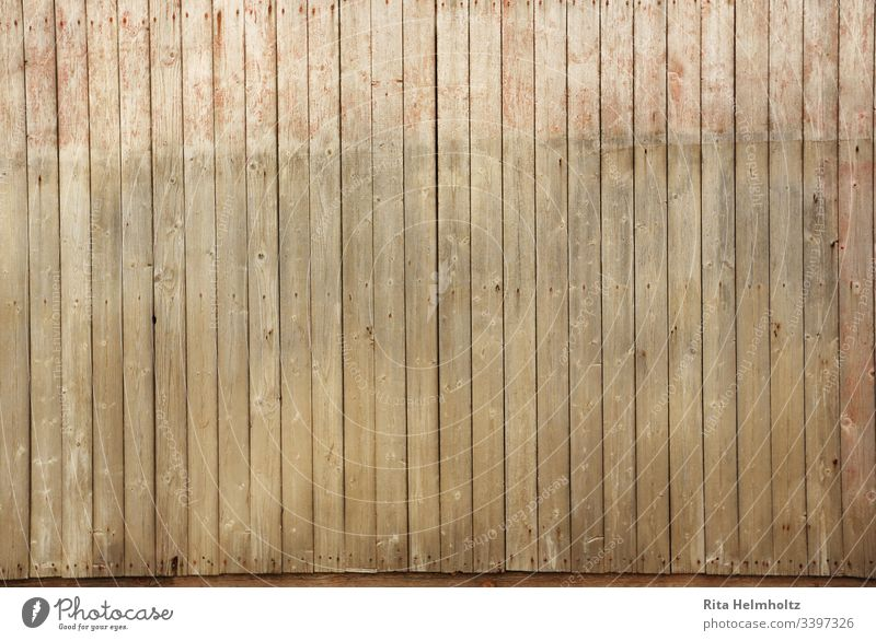 Board wall background Wood boards board wall Rustic wooden background Brown warm colors vertical lines Copy Space