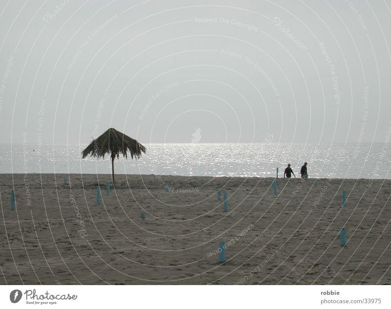 On the beach Beach Ocean Italy Dusk