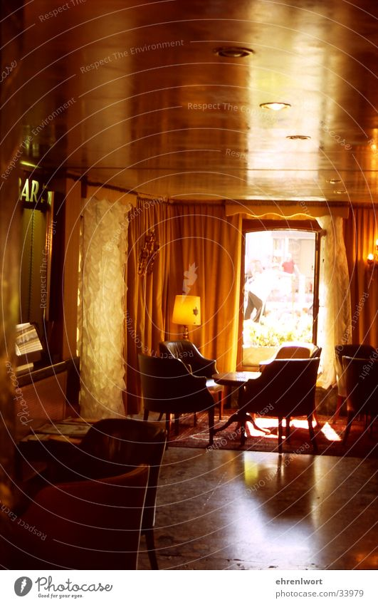 Europe Italy Mirror Hotel Hallway Foyer Armchair Venice Sewer The fifties