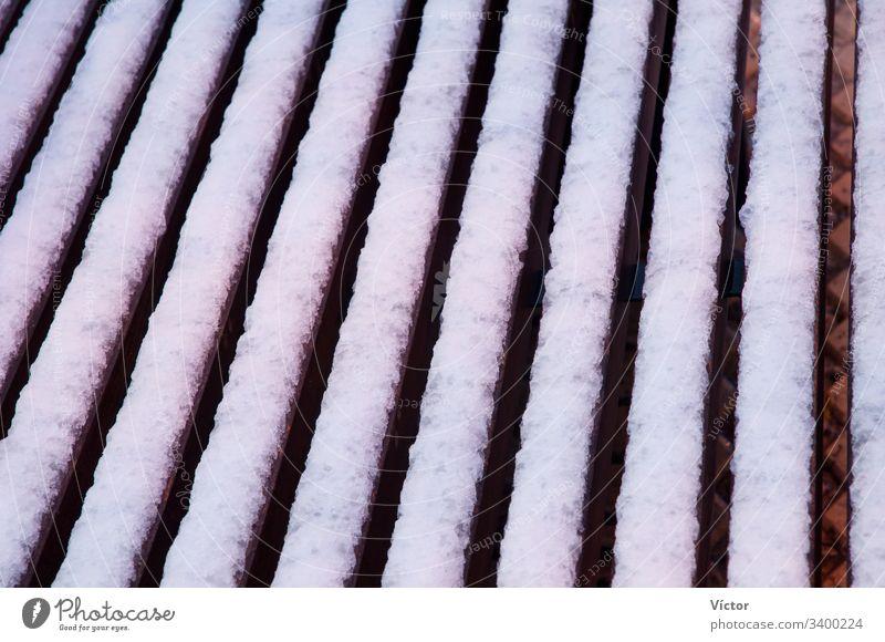 Frozen bars. Sabiñanigo. Huesca. Aragon. Spain. aragon cold color colors colour colours form forms freezing freshwater frost frozen frozen bar frozen bars