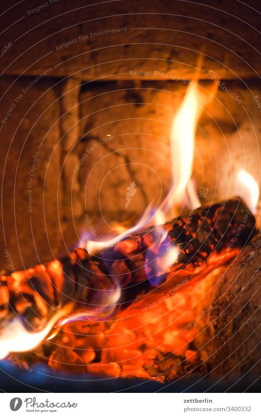 Stove heating Blaze Fire firing Flame Heating Hot background inboard Tiled stove Deserted kiln Heating by stove ofenloch Scene Copy Space urban incineration