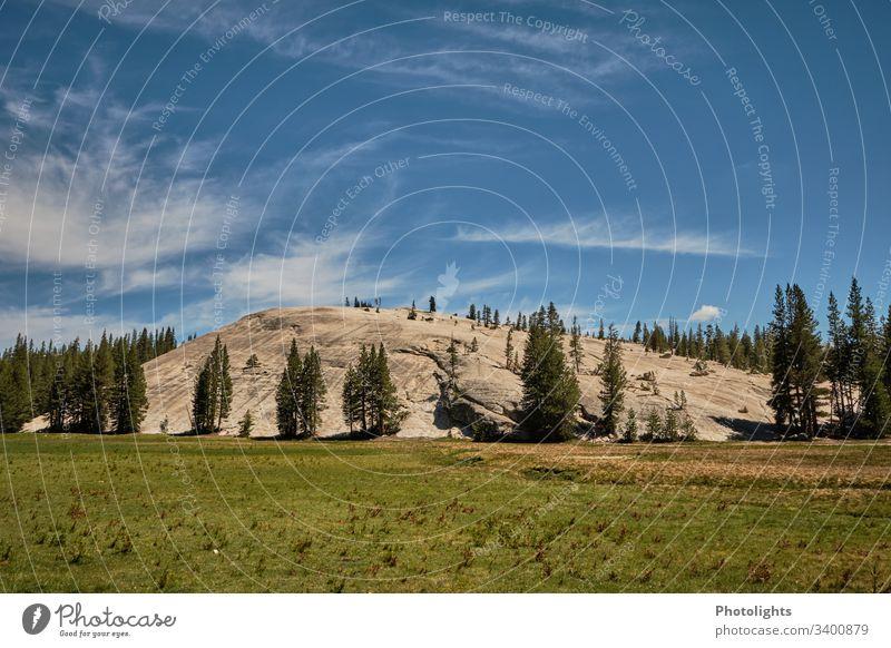 Tioga Pass - Yosemite NP - Granite rocks Exterior shot Mountain Blue Beautiful weather Sky Weather Colour Climbing Nature Colour photo USA