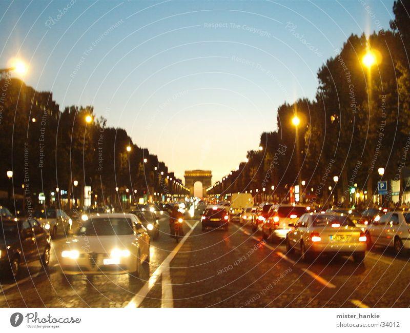 Europe Paris Arc de Triomphe Champs-Elysées