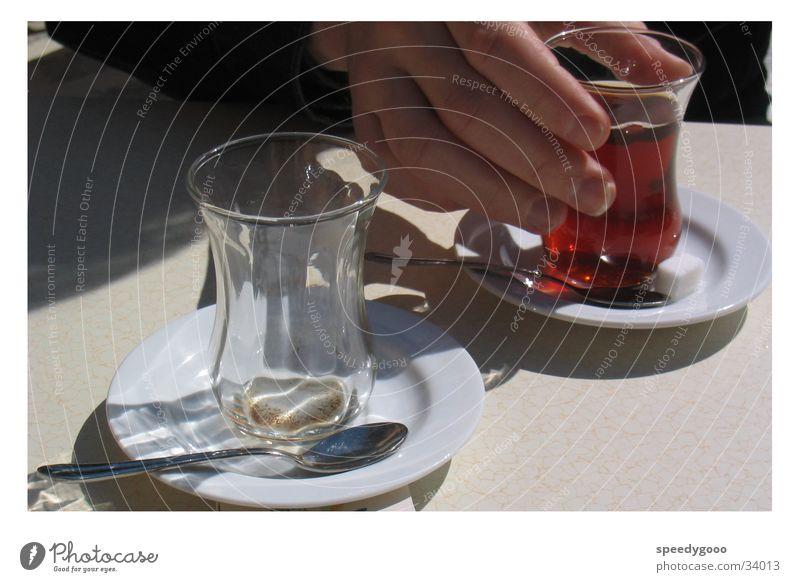 Turkish Tea Drinking Turkey Vacation & Travel Nutrition Cay Glass