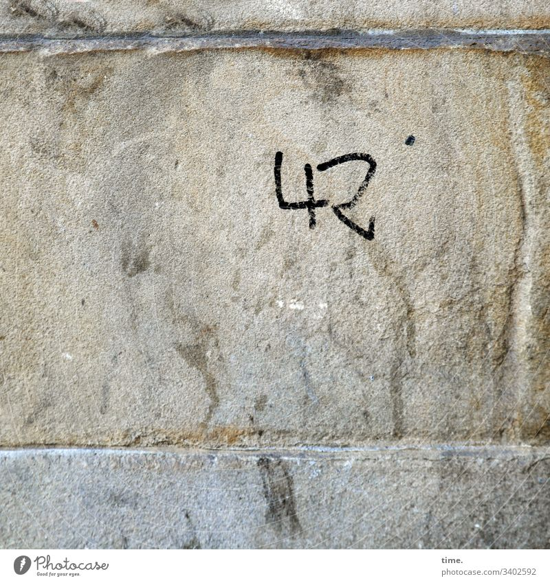 The answer Whimsical Inspiration detail Puzzle structure Woven Stone 42 graffiti Sandstone Wall (barrier) Seam edding Douglas Adams