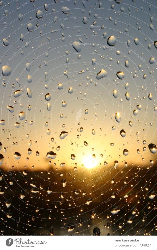 Water Sky Sun Rain Drops of water Gale