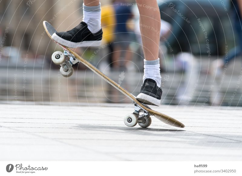 Skateboard Action Youth (Young adults) 1 Adults Man Sportsperson Skateboarding skateboarder Legs Skate park youthful Athletic Summer Lifestyle