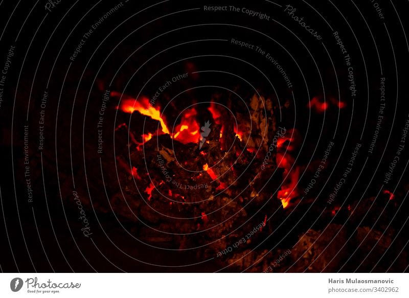 Hot fireplace burning lava on a black background Abstract Art backgrounds Blur hazy Club Colour colourful concept Cover Dark Decoration Effect Fire Flash