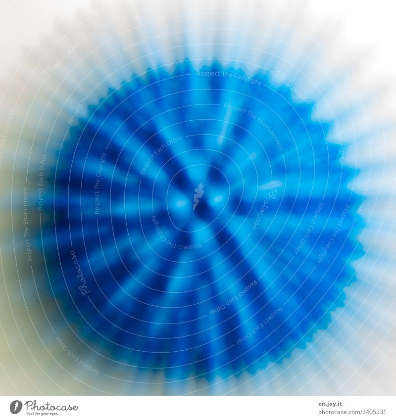 Blue ball with spikes Ball Hedgehog ball Round Blur Motion blur Virus corona coronavirus Sports Healthy Illness Therapy Physiotherapy prickles nap