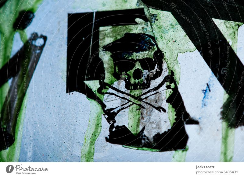Skull symbol, the transience of human life Symbols and metaphors skull Transience Pane lost places Decline Back-light Ravages of time Derelict Death