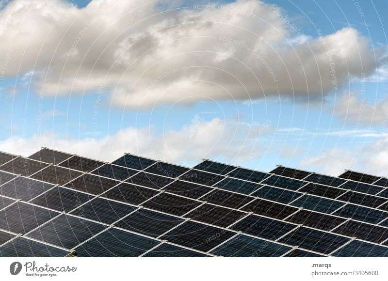 solar plant Solar cell Solar Power Energy industry High-tech Future Environment Science & Research Renewable energy Advancement Structures and shapes