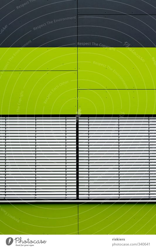 Green House (Residential Structure) Window Architecture Building Facade Fresh Gigantic