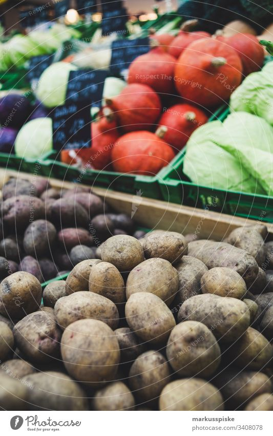 Fresh organic vegetables farmers market Vegetable Farmers market Markets fresh vegetables Organic produce Organic farming Potatoes Pumpkin Lettuce