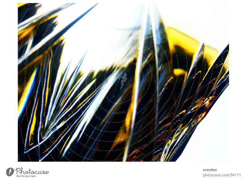 ground inspection Yellow Polished section Transparent Pattern Relief Ancient Exceptional Macro (Extreme close-up) Close-up Glass Old Invisible