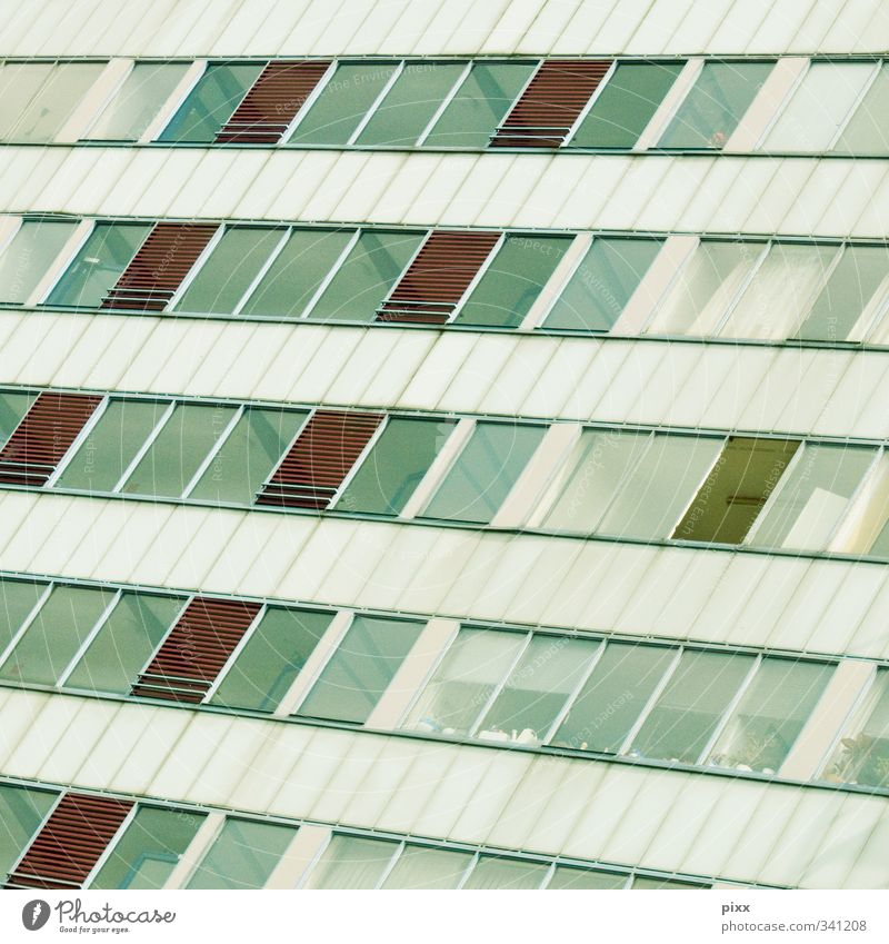 airing Bochum The Ruhr North Rhine-Westphalia Town Populated House (Residential Structure) High-rise Manmade structures Building Architecture Facade Glass Metal