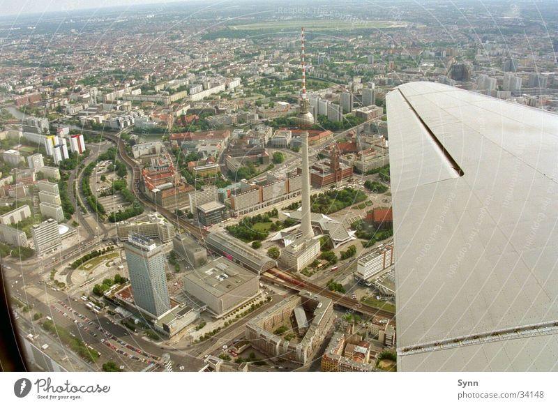 Berlin from the air Aerial photograph Downtown Berlin sightseeing flight raisin bomber Berlin TV Tower