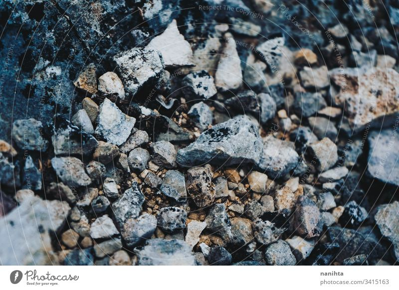 Grunge texture of wild stones in nature rock wall soil dirty grunge natural sharp hard material old rusty rustic rural no people pattern wallpaper backdrop