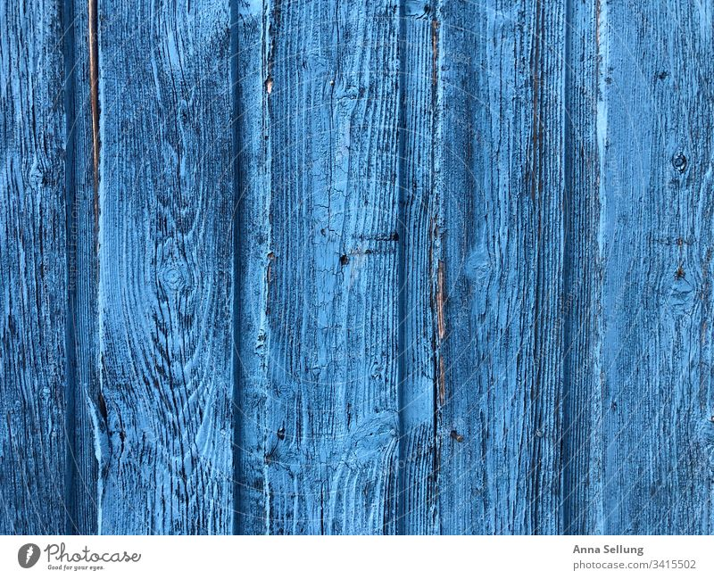 Sky blue wood structure - door Blue Light blue Detail Deserted Texture of wood Wood Structures and shapes Paintwork Exterior shot Section of image Line