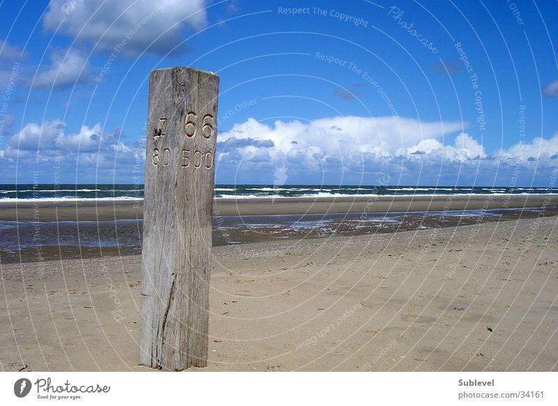 Zandvoort Beach Zuid Ocean Netherlands Sand zandvoort