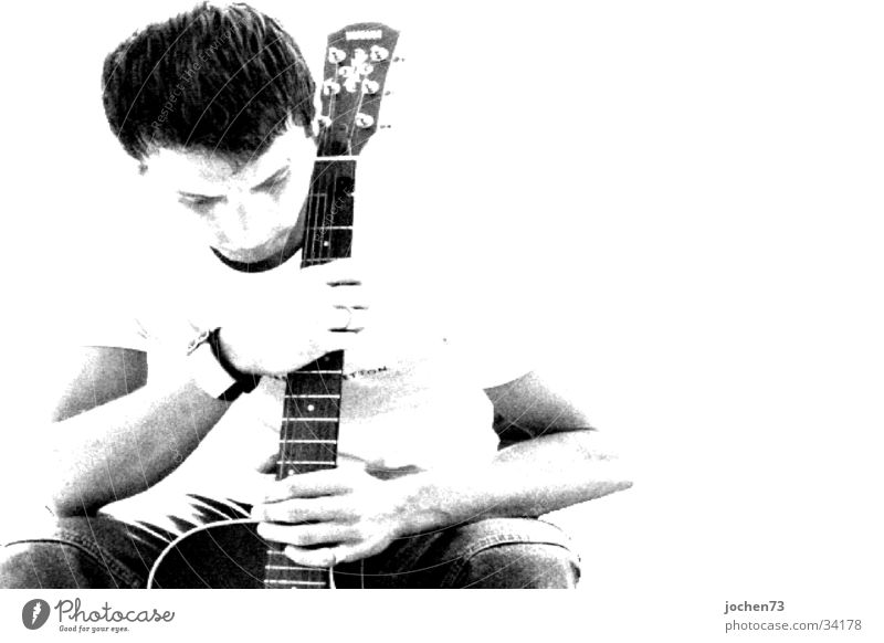 thoughts Man Guitar