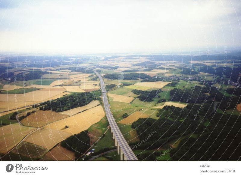 As far as the wind goes Air Bird's-eye view Field Bridge Flying