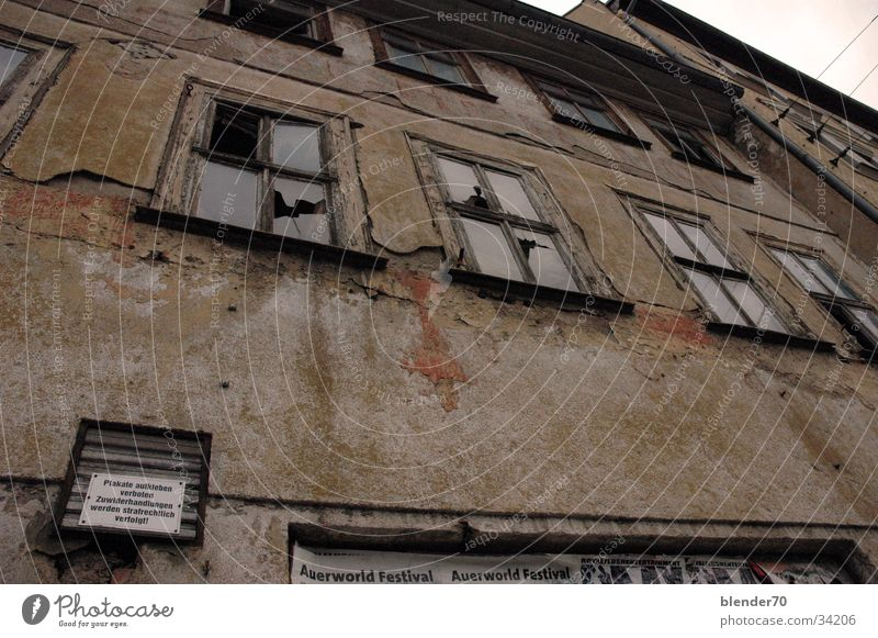 Brown Architecture Transience Derelict Ruin GDR East Forget Sepia Decompose Erfurt