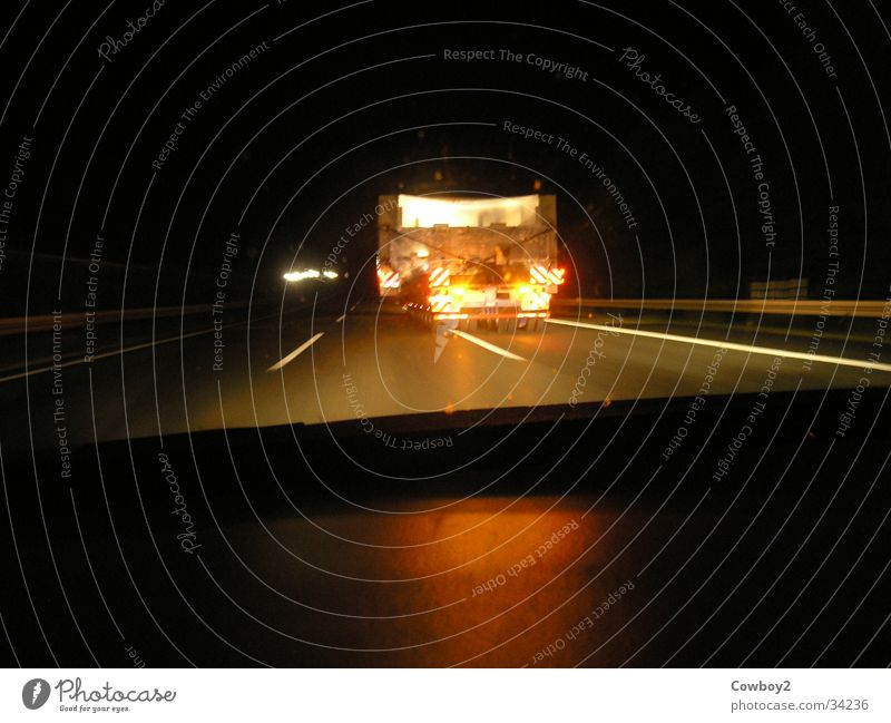 heavy transport Highway Overtake Night Truck Vehicle State expressway Country road Transport do not overtake overcharged overwidth Logistics bf3