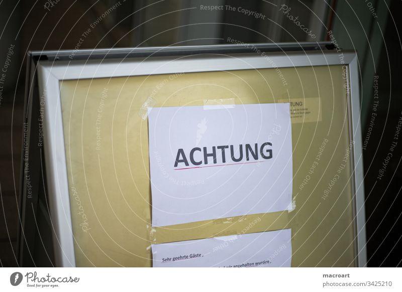 Corona Virus - cancellations and closures coronavirus covid-19 COVID flu pandemic Influenca Germany Hall/Saale Hall Saale Saxony Anhalt Epidemic Disinfection