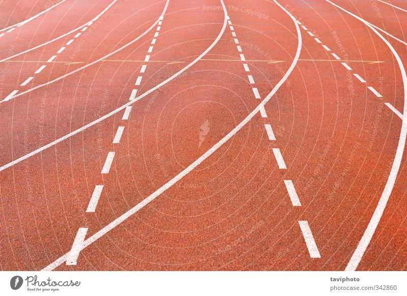 running track Playing Sports Jogging Stadium Racecourse Running Fitness Red White Beginning Competition cinder lines Beige race athlete sprint field athletic