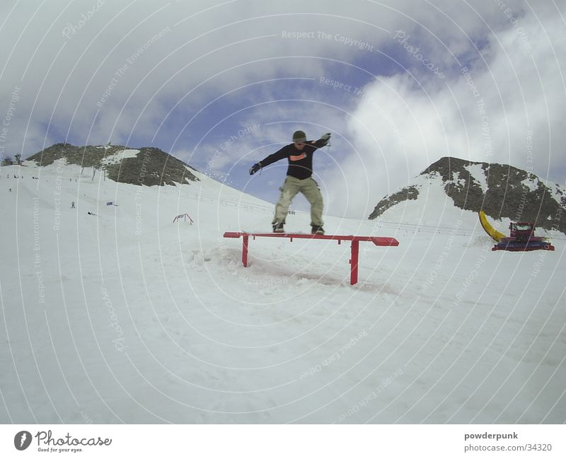 Clouds Winter Snow Style Sports Posture Athletic Balance Snowboard Winter vacation Trick Freestyle Talented Tracked vehicle Skid Snowboarding