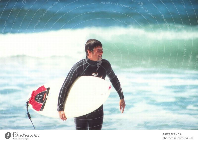 Man Water Beach Sports Waves Surfing Surfer