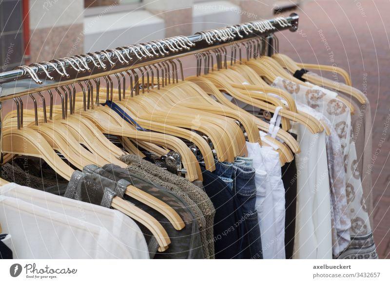 fashion for women clothing clothes rack womenswear ladieswear shop store display retail hanger shirt wardrobe dress collection garment style choice hanging sale