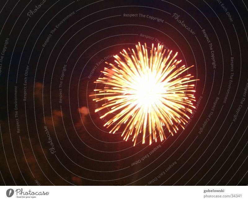 Japanese fireworks 2 Night Leisure and hobbies Firecracker Blaze Spark Duesseldorf