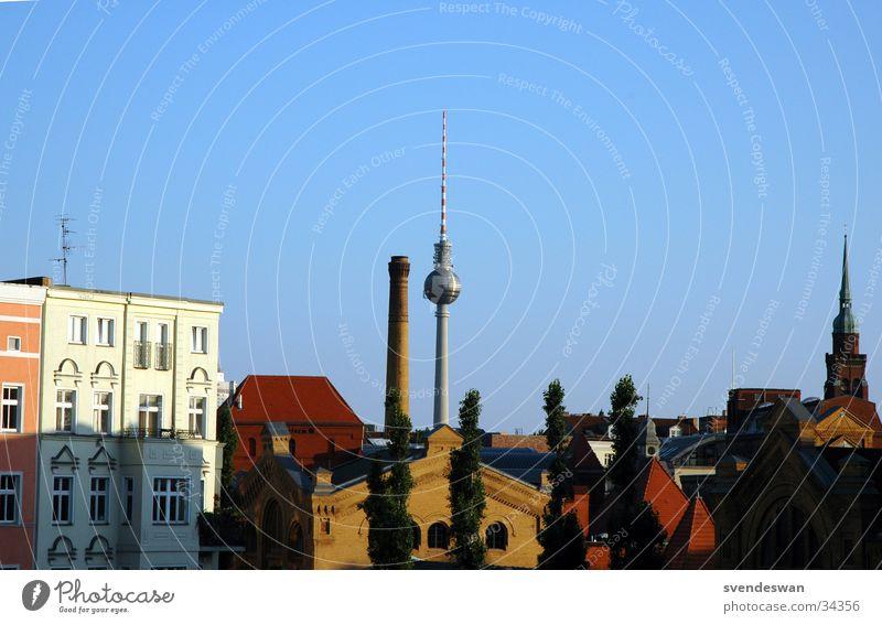 Summer Berlin Architecture Tower Culture East Alexanderplatz