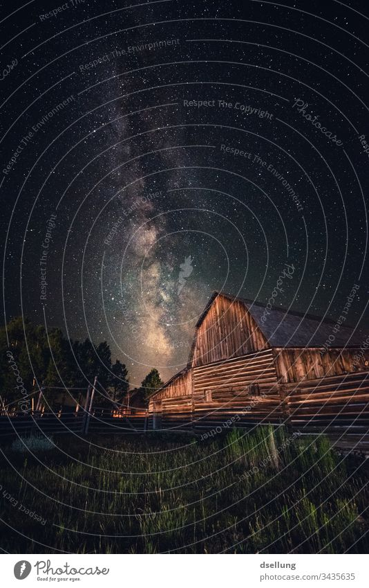 The Milky Way above an old barn in Utah Search on one's own Back-light Light (Natural Phenomenon) Building House (Residential Structure) Exterior shot