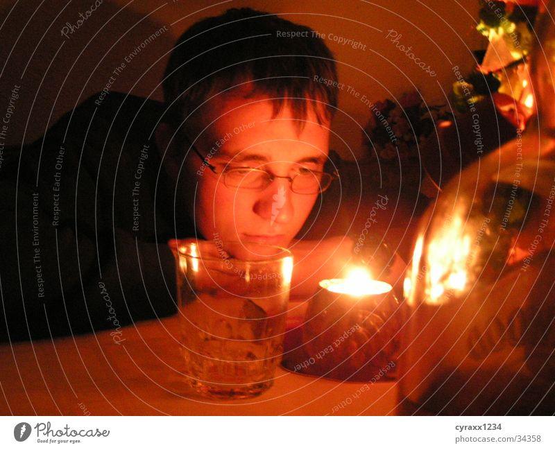 Moody Candle Candlelight