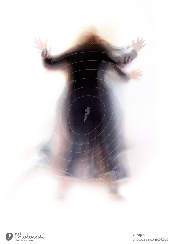 witch dance Witch Eerie Movement Long exposure Fairy tale Excitement Woman Dance myth