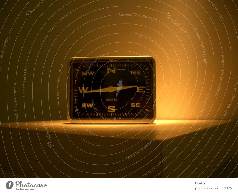 Time Living or residing Alarm clock Compass point