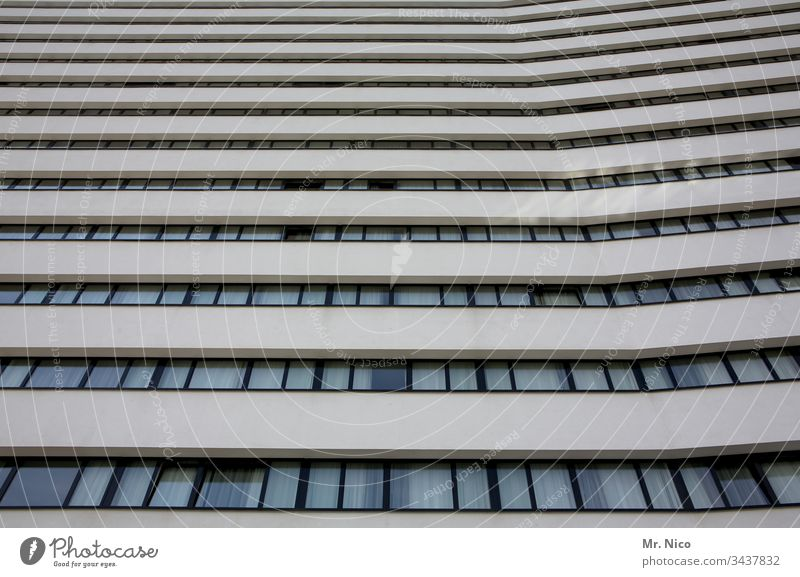 skyscraper High-rise Architecture built Town Window Facade Manmade structures Downtown Office building Perspective urban Glass Bank building Symmetry Tall