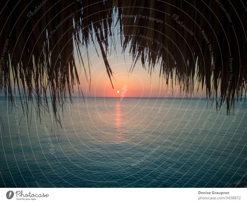Sunset on Curacao curacao sunset caribbean coast ocean beach antilles sea water tropical island dutch netherland evening night bay blue dawn outdoor summer