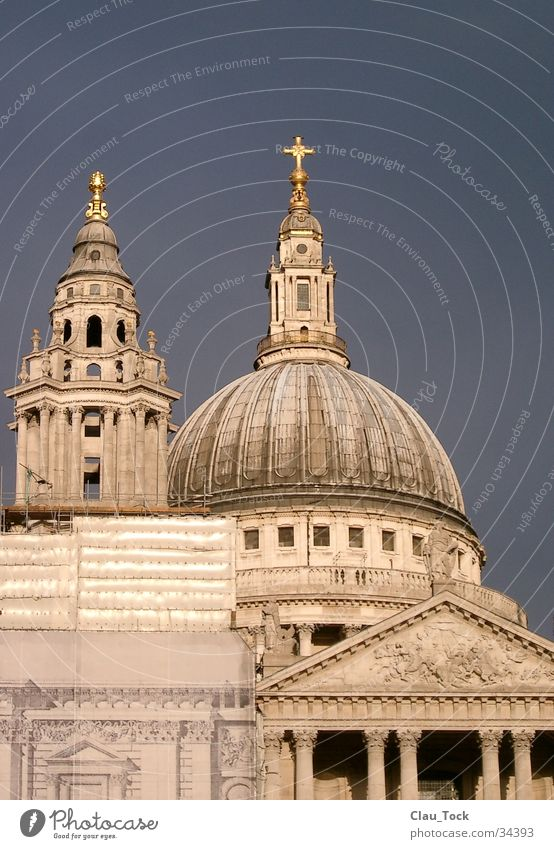 St. Paul's Cathedral London Domed roof Architecture Religion and faith