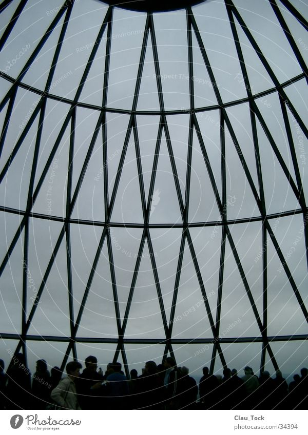 Top of the gherkin London High-rise Domed roof House (Residential Structure) Architecture sir norman forster rasp Sky 30 St Mary Axe