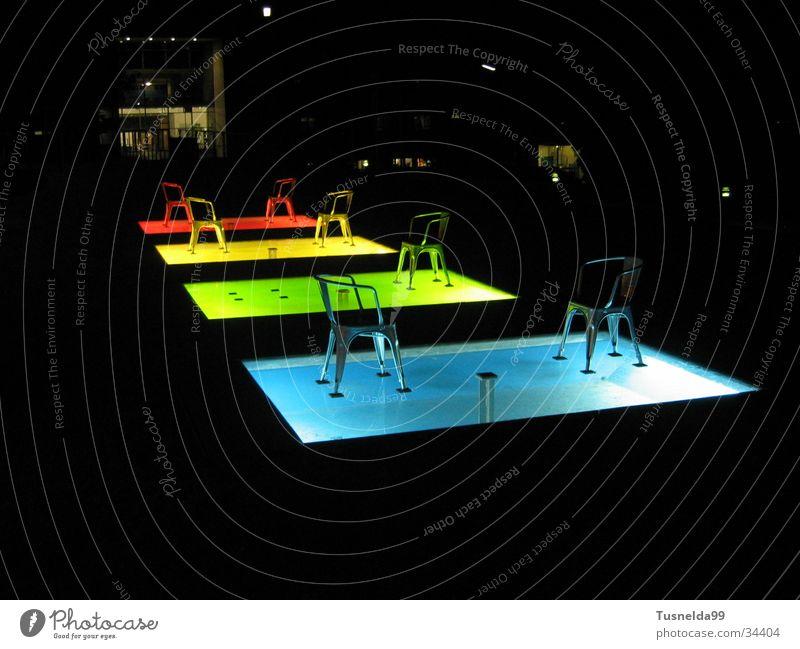Green Blue Red Yellow Architecture Chair Baden-Wuerttemberg Pforzheim