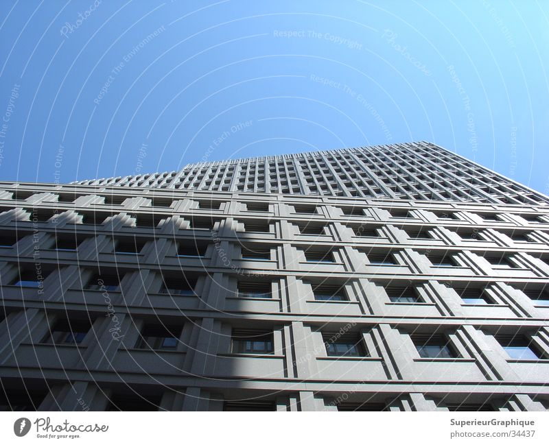 Sky House (Residential Structure) Architecture Potsdamer Platz