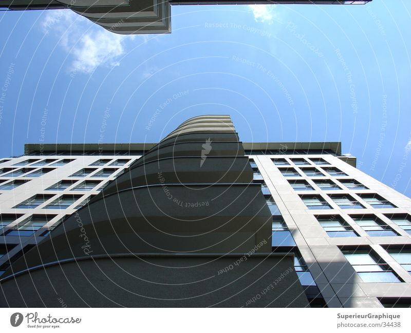balkonies House (Residential Structure) Potsdamer Platz Balcony Clouds Architecture Sky