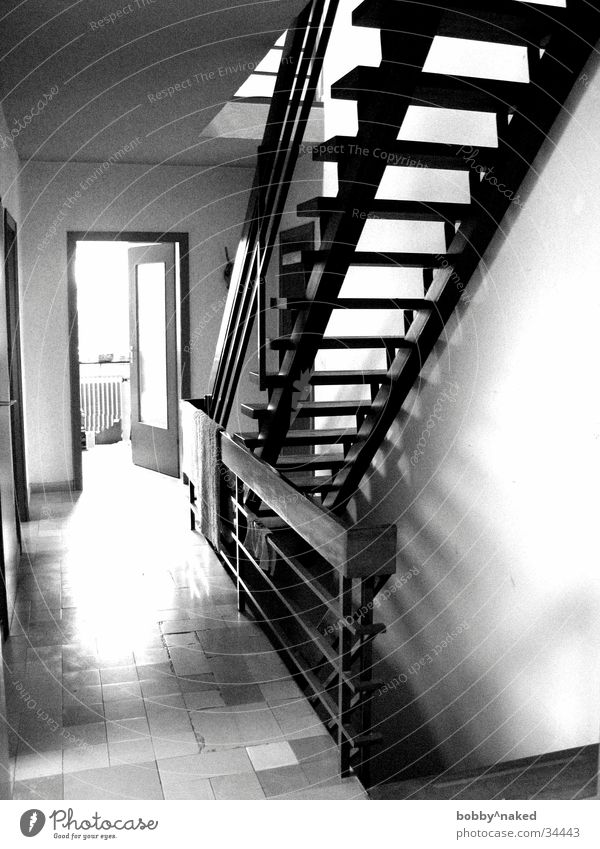 stairwell Light Architecture Stairs Light (Natural Phenomenon) Shadow Contrast Tile