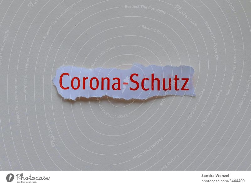 Word Corona protection corona virus Virus Protective measures pandemic flu Economy Crisis crash Financial Crisis Healthy