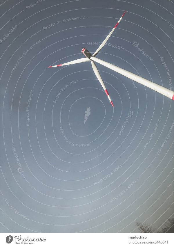 Wind Turbine Renewable Energy Pinwheel stream Renewable energy Wind energy plant Energy industry Environment Environmental protection Ecological Eco-friendly