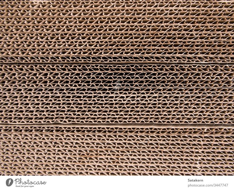 Corrugated paper edges background board box brown cardboard cargo carton closeup corrugated cut grunge horizontal industry material package packaging paperboard