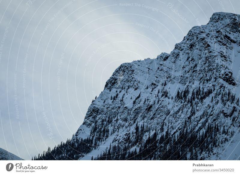 Mountain in. Banff mountain snow winter canada alberta North America color Landscape Banff National Park scenic scenery